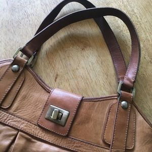 Genuine French Connection Tote Bag Real Leather